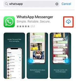 آموزش تصویری نصب واتساپ